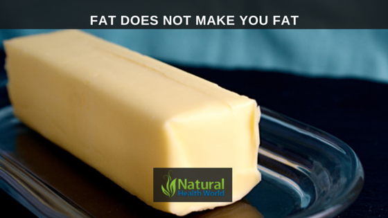 Fat does not make you fat NaturalHealthWorld